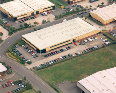 Coventry factory satellite view