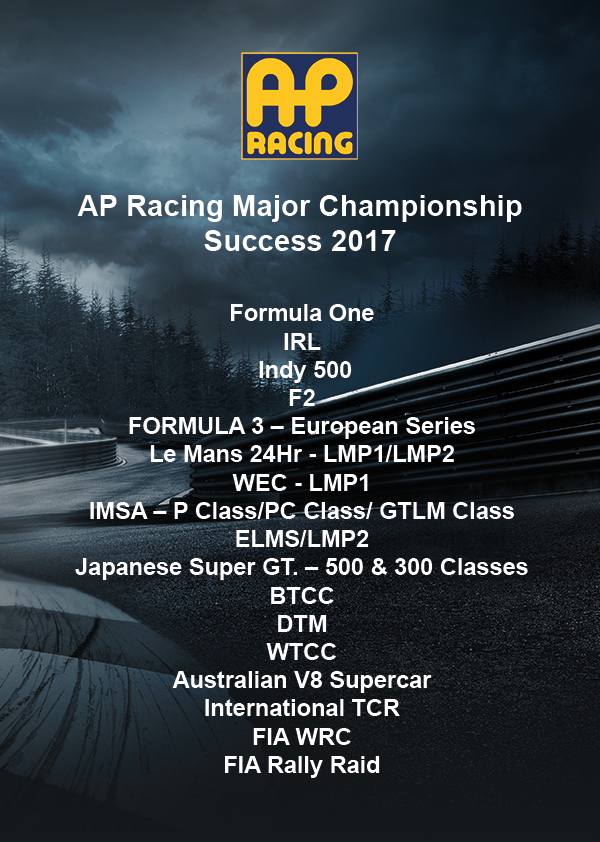 AP Racing Major Championship Success - Featured Image