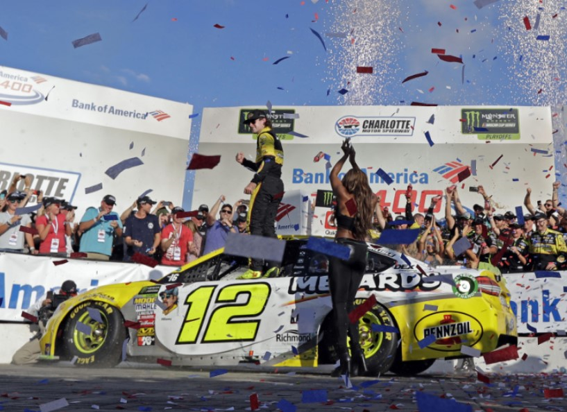 AP Racing congratulates Ryan Blaney and Chase Bris - Featured Image